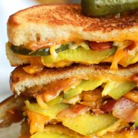 Pickle Bacon Grilled Cheese