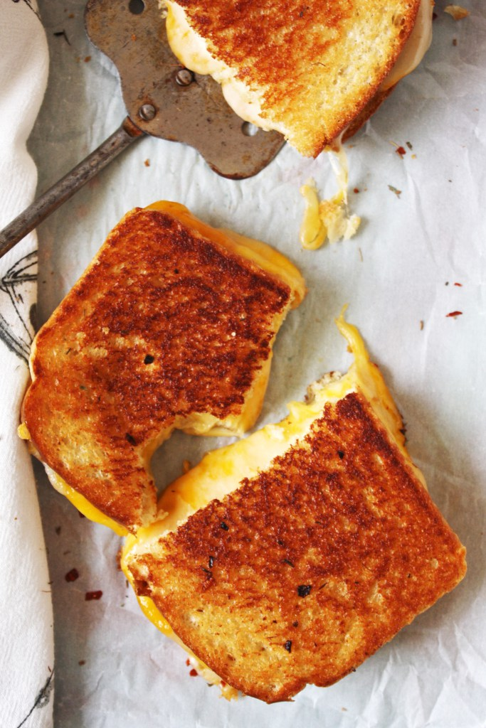 Fancy Schmancy Grilled Cheese