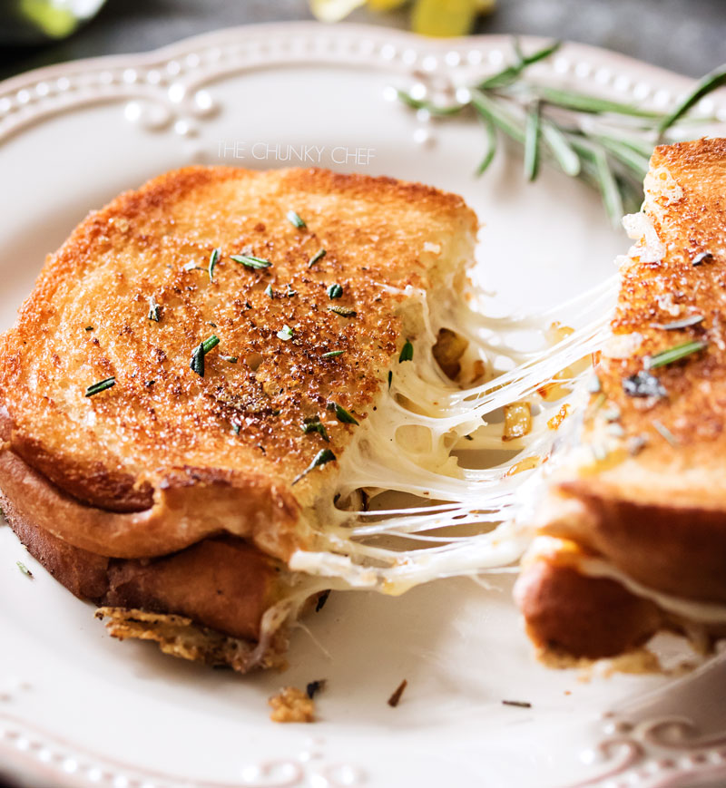 Ultimate Gourmet Grilled Cheese