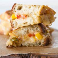 Fajita Grilled Cheese