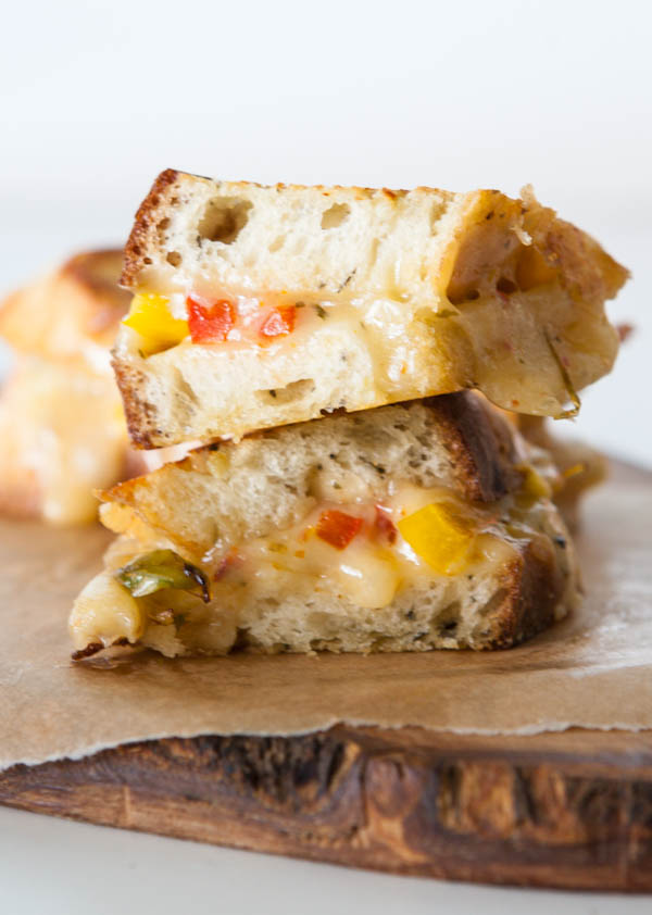 Fajita Grilled Cheese